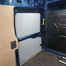 Van interior panels
